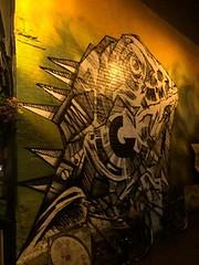 Iguana Graffiti In Brighton