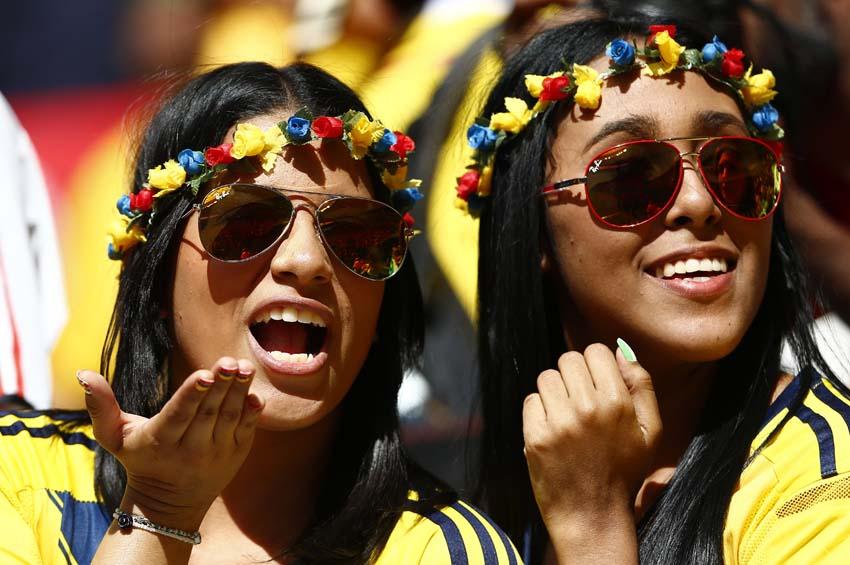 (19)BRASIL-BRASILIA-MUNDIAL 2014-COLOMBIA VS COTE D IVOIRE