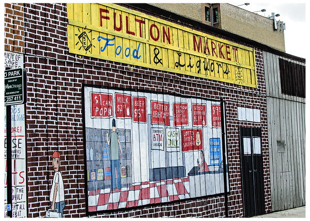 Fulton (IL) United States  city pictures gallery : United States / Illinois / Chicago / Fulton Market