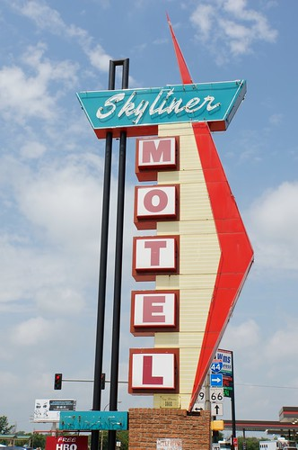 Skyliner Motel, Route 66, Stroud, Oklahoma