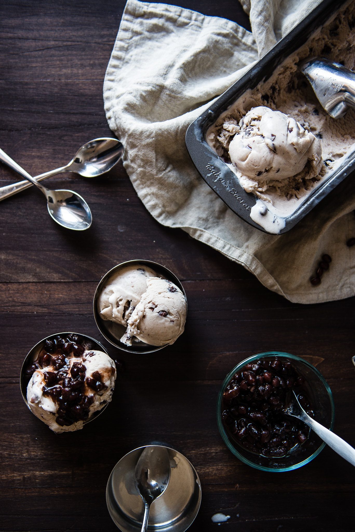 red bean ice cream, for Food52