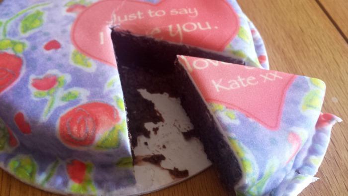Bakerdays Letterbox Cake5