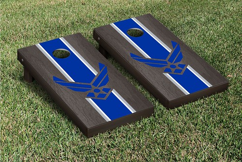 Air Force Falcons Onyx Stained Stripe Version