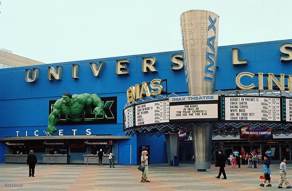 Cinemas - Universal Studios, Hollywood