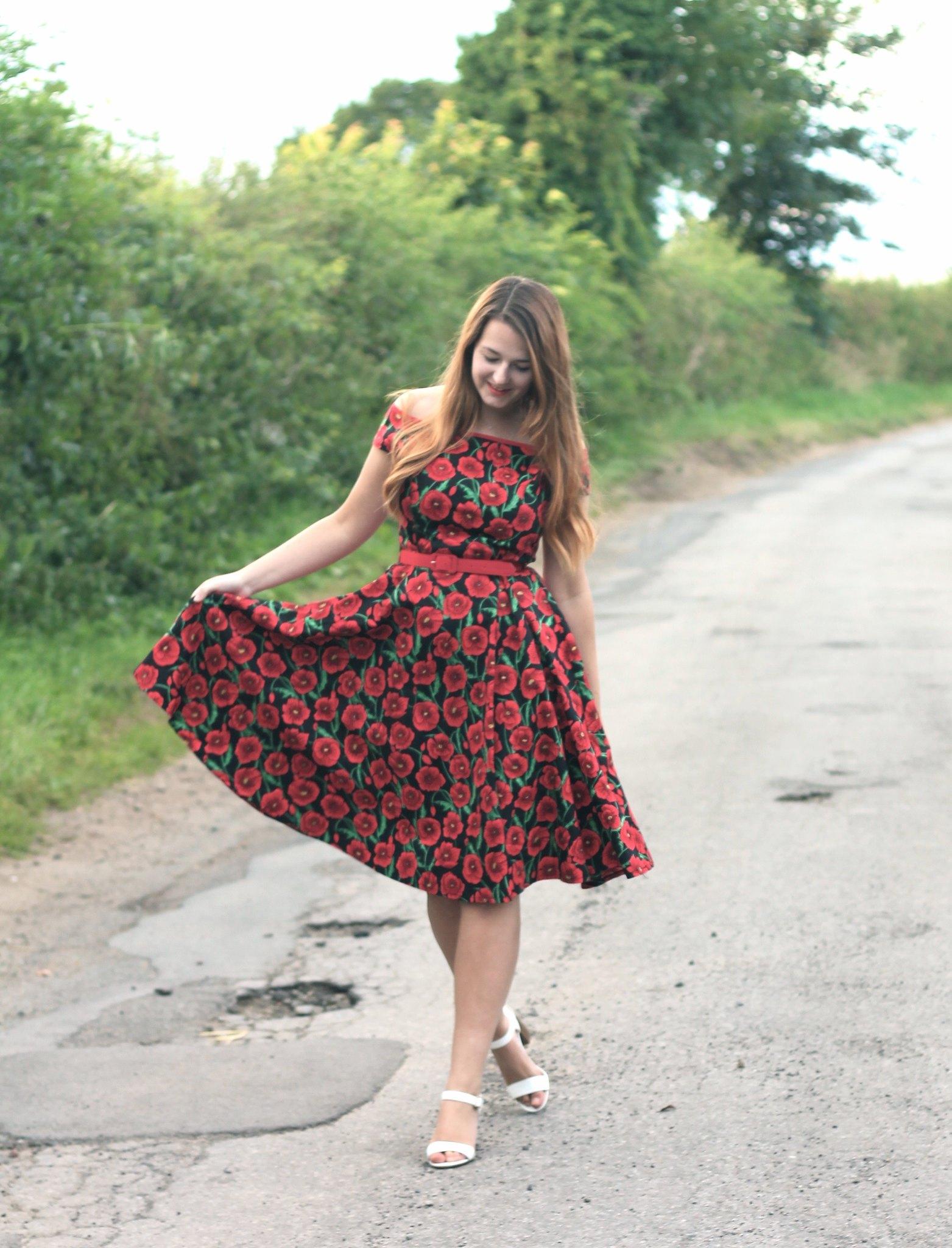 Hell Bunny Poppy Dress