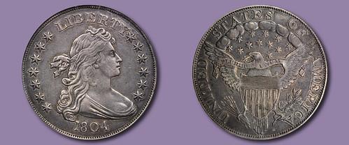 Garrett 1804 silver dollar