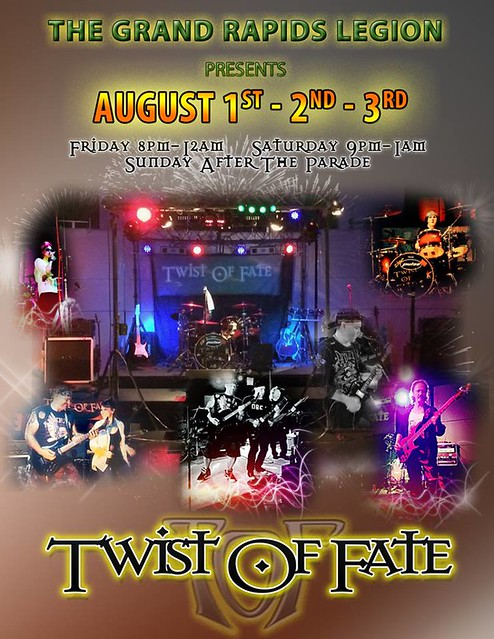 08/01 - 03/14 Twist Of Fate @ Grand Rapids Legion, Grand Rapids, MN