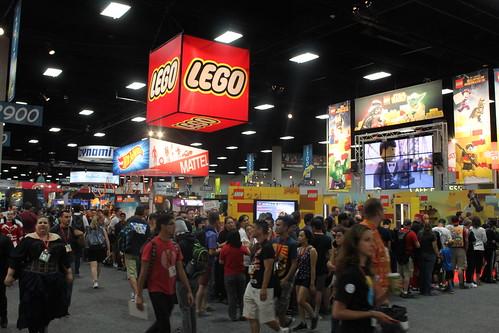 SDCC 2014 LEGO Exclusive Set Line