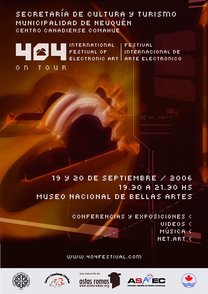 404 FESTIVAL - ON TOUR PATAGONIA 2006