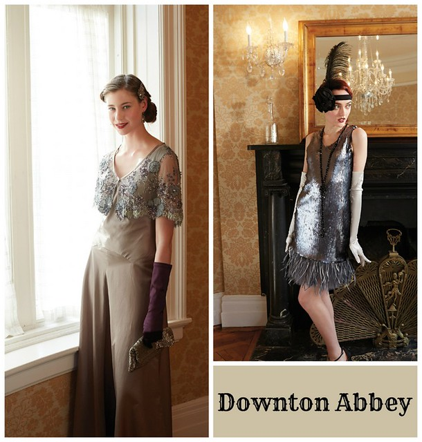 pat sloan downton abbey the dresses