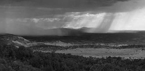 rain clouds landscape colorado unitedstates montrose