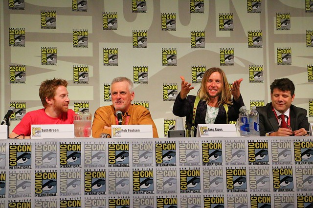 Teenage Mutant Ninja Turtles at San Diego Comic-Con 2014
