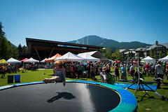 Whistler Children's Festival at Olympic Plaza
