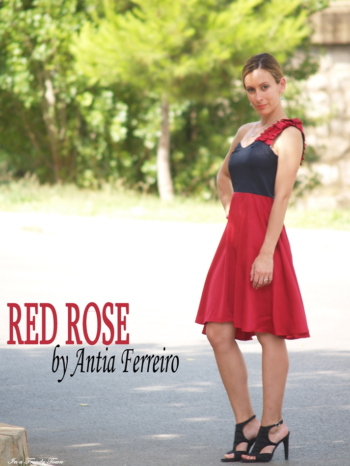 OUTFIT RED ROSE BY ANTIA FERREIRO