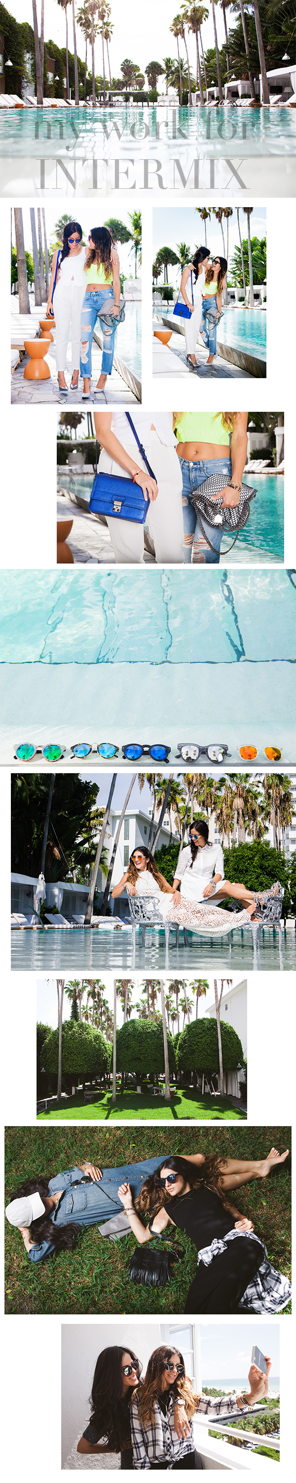 SWIM WEEK WITH INTERMIX & THE DELANO