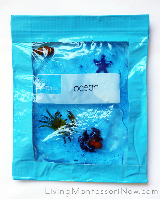 Language Object Sensory Bag for Babies and Toddlers
