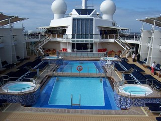 Pool on Deck Celebrity Eclipse - Cruise Ship | by cruise.co