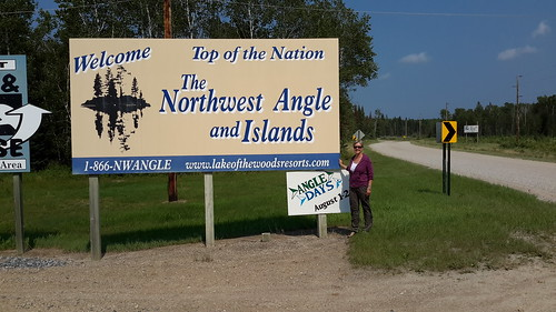 Then back into the U.S. to get to the northernmost point