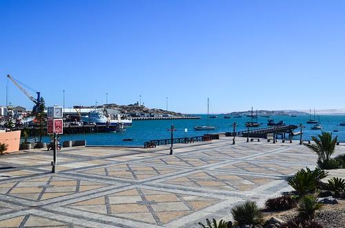 Lüderitz waterfront and port