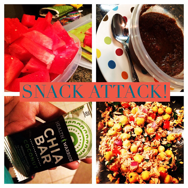 This week's snack attack: homemade salsa is on the list