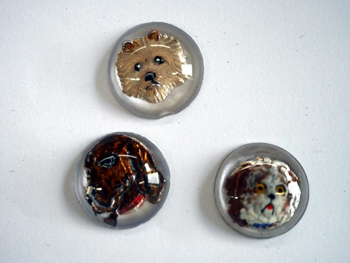 """Essex Crystal"" Dog Cabochons - 1"