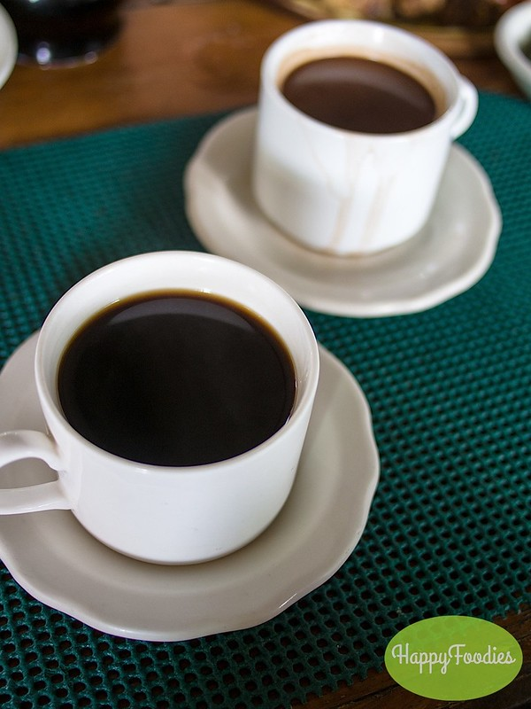 Barako Coffee (Php 40) and Hot Tsokolate (Php 45)