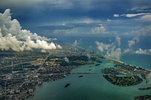 usa clouds airplane photography inflight view florida cloudy miami air flight nikond3200