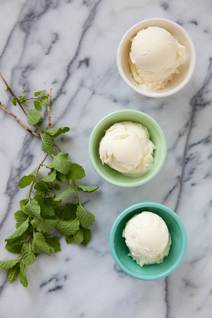 Backyard Mint Ice Cream
