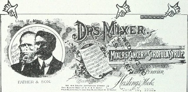 "Image from page 65 of ""Nostrums and quackery; articles on the nostrum evil and quackery reprinted, with additions and modifications, from The Journal of the American Medical Association"" (1914)"
