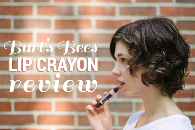 Healthful Beauty // Burt's Bees Lip Crayon Review