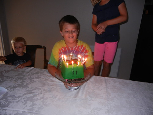 July 27 2014 Clark 11th birthday