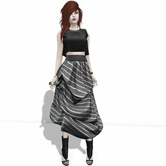 Valentina E. Prudence Draped Skirt Only at The Fantasy Collective