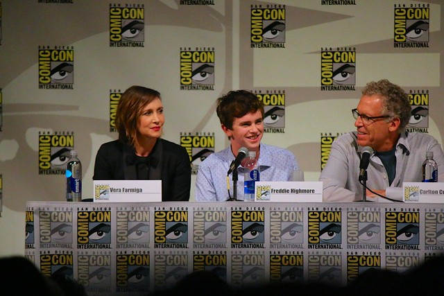 Bates Motel panel at San Diego Comic-Con 2014