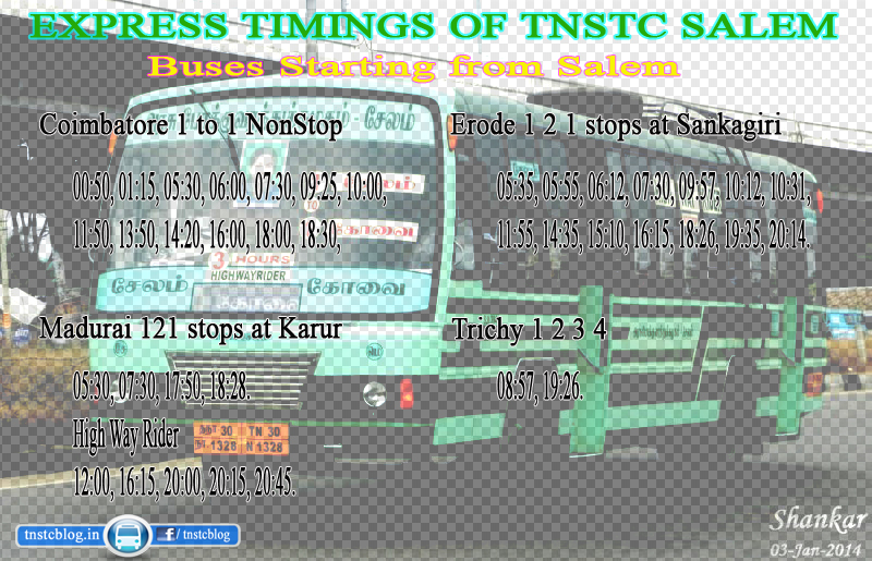 Express Timings