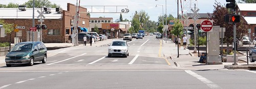 Easy Rider Filming Location - Route 66 at San Francisco Street, Flagstaff, Arizona