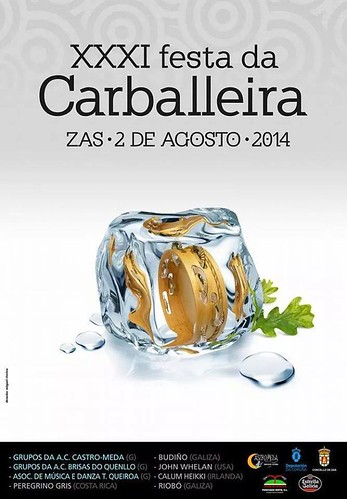 Zas 2014 - XXXI Festa da Carballeira - cartel