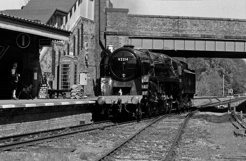 92214, BR Standard 9F, Quorn & Woodhouse, 3rd May 2014