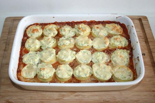 51 - Lasagne-Rouladen mit Ricotta-Schinken-Füllung - Überbacken / Lasagna roulades with ricotta ham stuffing - gratinated