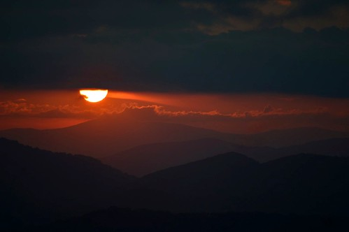 sunset sky usa sun mountains clouds nikon carolina layers blueridgeparkway brp d3200 ncmountainman phixe