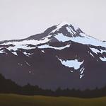 Kelly Schurger; Who Needs Sun; Oil on canvas; 30x30;2014 -