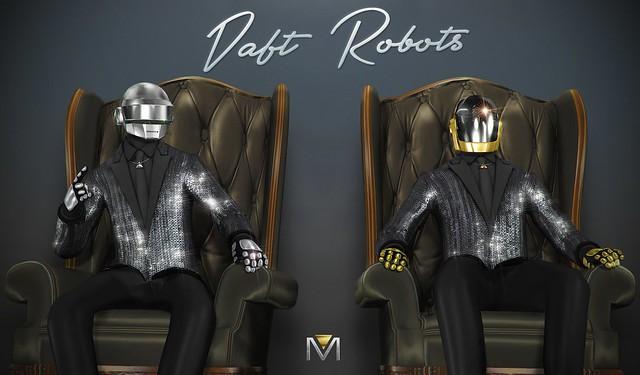 Daft Robots Power