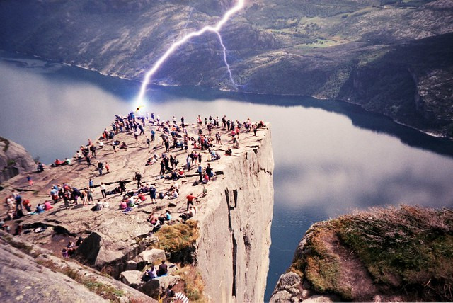 Preikestolen flash (explored)