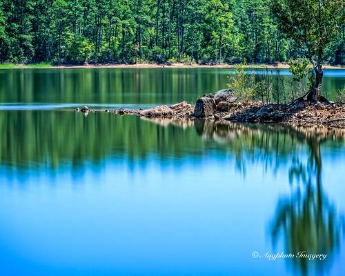 blue lake nature water outdoors us unitedstates scenic southcarolina mountcarmel augphotoimagery