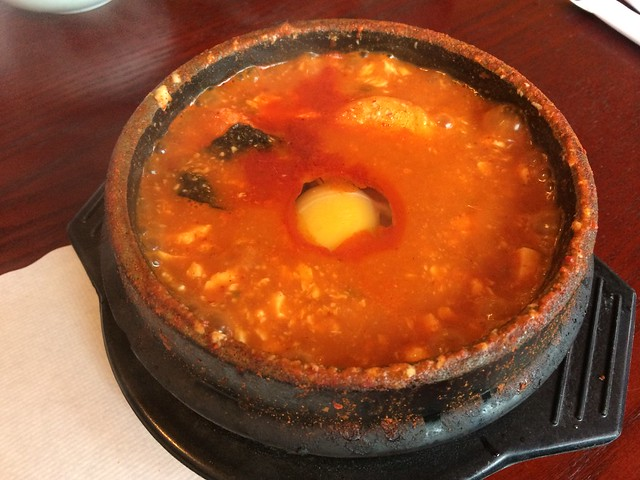 Combination soft tofu soup - My Tofu House
