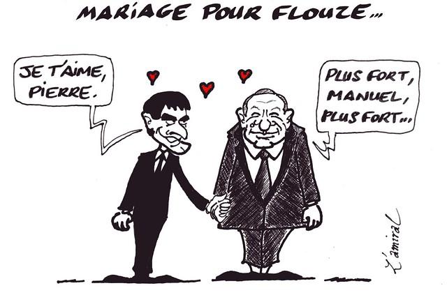 Mariage pour flouze