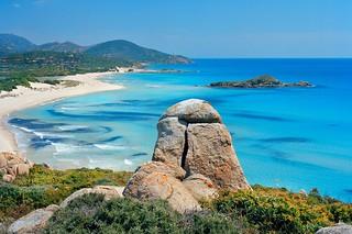 Playa de Chia, en la costa sur.