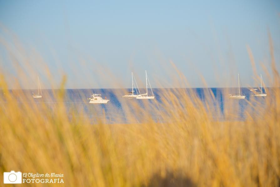 Vistas de playa de los Genoveses