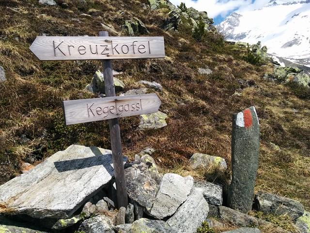 Abstieg Kegelgassl-Alm