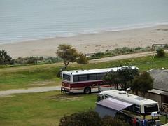 Buses in Caravan Park