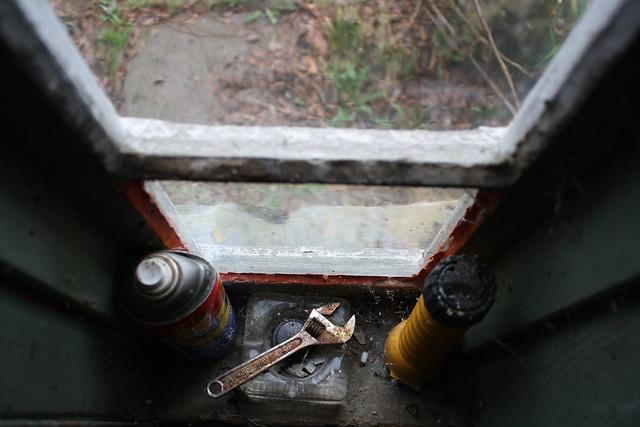 WD40 wrench ashtray flashlight